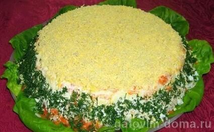 Пошаговые рецепты приготовления салата мимоза без рыбы