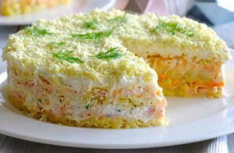 Подборка рецептов салата мимоза с сайрой