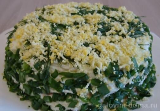 Пошаговый рецепт приготовления вкусного слоеного салата мимоза с сайрой и рисом