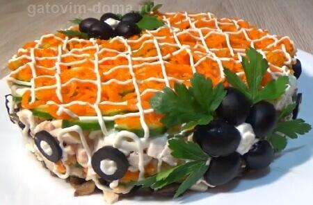 Лучшие пошаговые рецепты с фото по приготовлению салата Обжорка
