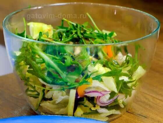 Собираем бесподобно вкусный салат к новому году