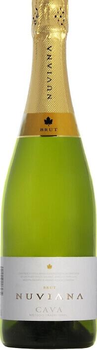 Хорошее шампанское Cava на Новый год и свадьбу