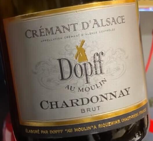 Качественное французское игристое вино Cremant от 1000 рублей за бутылку