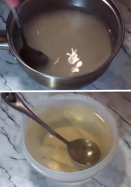 Готовим домашний сироп для пропитки корже в торте