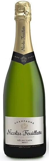 Блестящее и хорошее дорогое шампанское из провинции Шампань во Франции