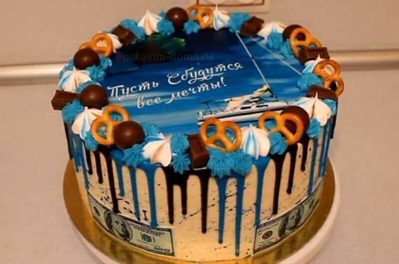Интересная идея торта на 14 февраля любимому мужчине