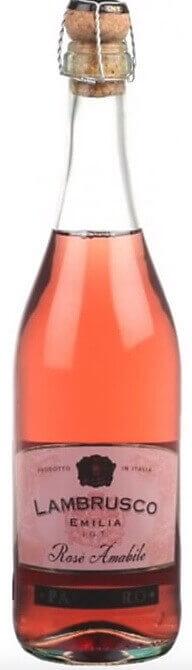 Популярное и недорогое красное шампанское Lambrusco от 300 рублей
