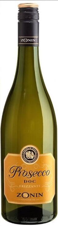 Слабоалкогольное игристое вино Prosecco для праздничного стола
