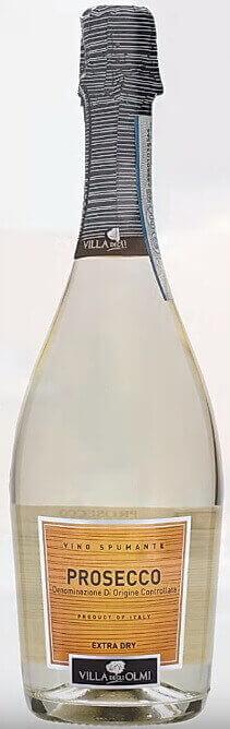 Высоко алкогольное игристое вино Prosecco Spumante
