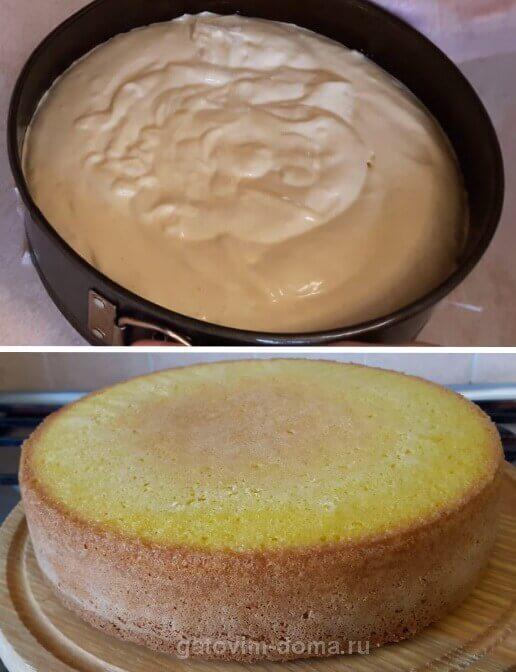 Тесто и выпечка для торта ко дню святого Валентина
