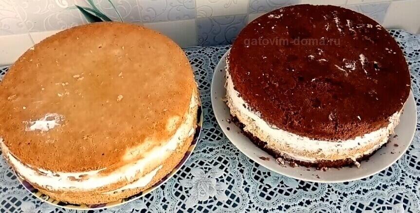 Два разных и вкусных торта на праздник любимому человеку