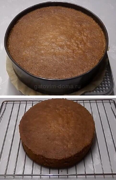 Готовая выпечка для приготовления торта на день святого Валентина