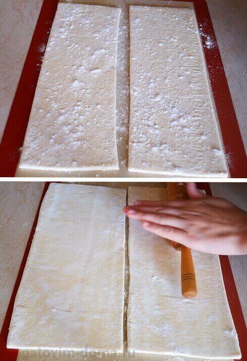 Подготавливаем тесто для выпечки слоено-дрожжевых коржей