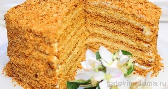 Классический торт Медовик и его история происхождения в России