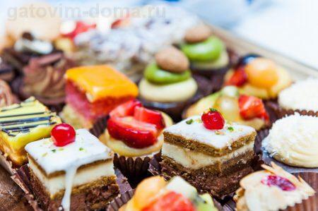 Основные виде десертов во всем мире