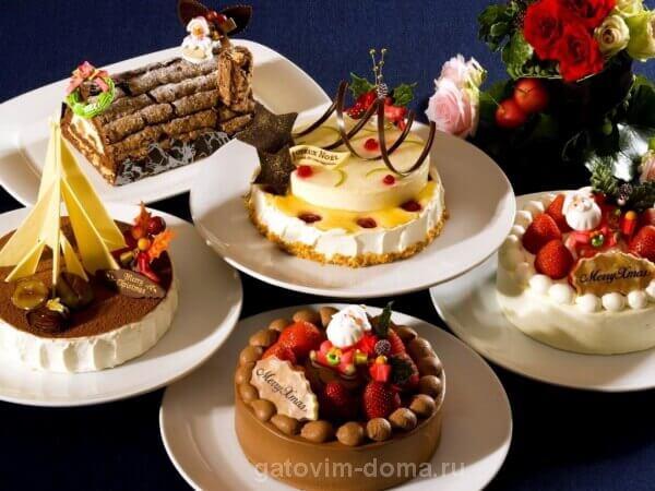 Обзор основных видов тортов