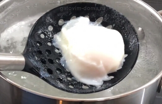 Идеальная форма яйца пашот в шумовнице