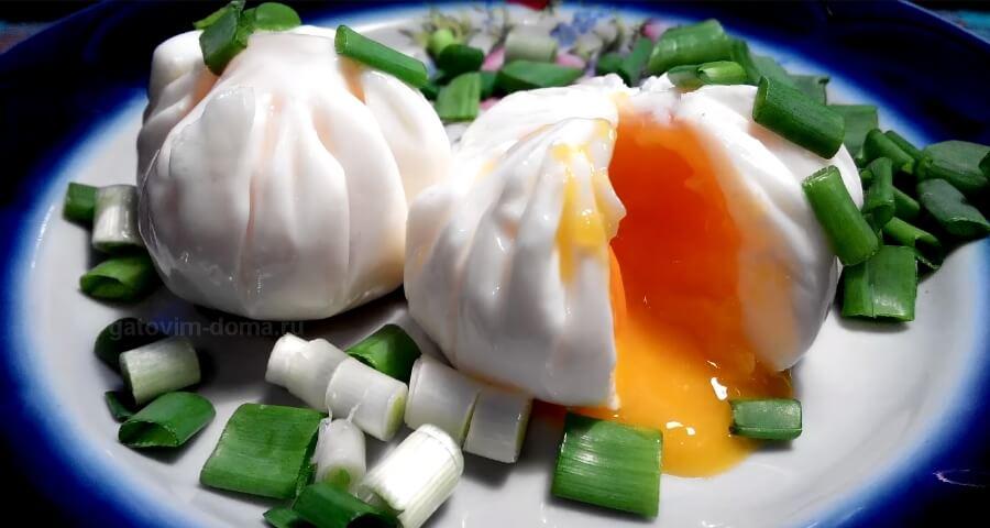 Как приготовить яйцо пашот в пакетике из пищевой пленки