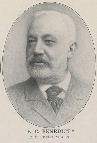 Нью-Йоркский банкир и брокер Элиас Корнелиус Бенедикт