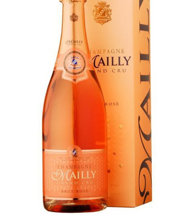 Красивое розовое шампанское Rose Champagne